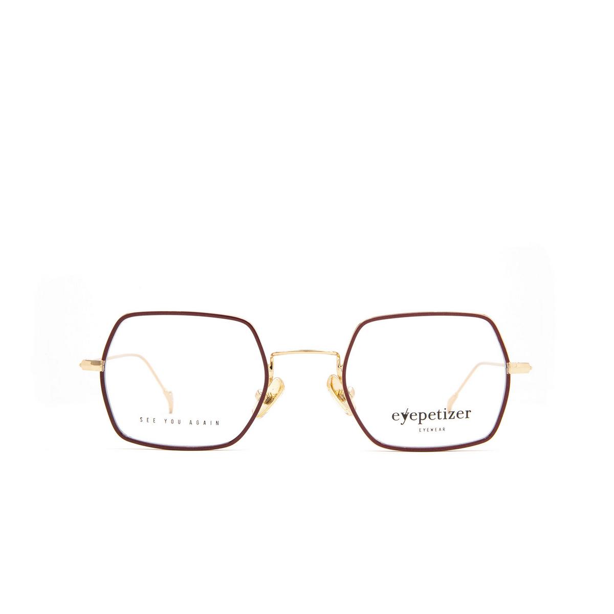 Eyepetizer® Square Eyeglasses: Hugo color Brown C 4-C.