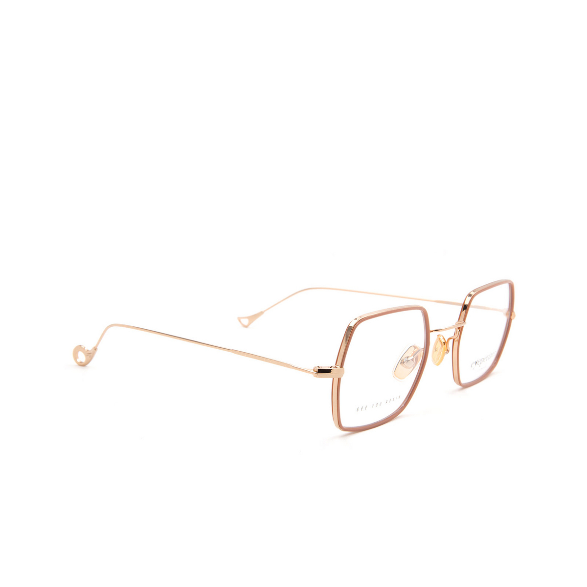 Eyepetizer® Square Eyeglasses: Hugo color Antique Rose C 9-E.