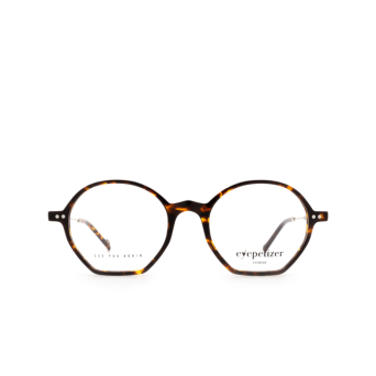 Eyepetizer® Irregular Eyeglasses: Huit color Dark Havana C.1-I.