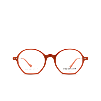 Eyepetizer® Irregular Eyeglasses: Huit color Orange C.1-K.