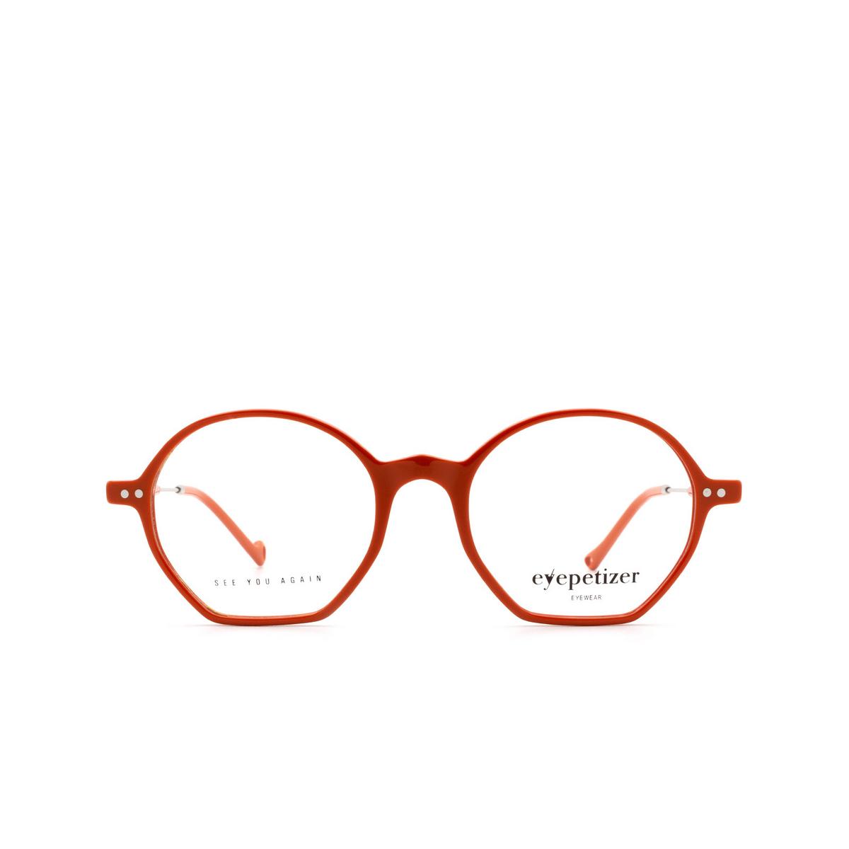 Eyepetizer® Irregular Eyeglasses: Huit color Orange C.1-K.