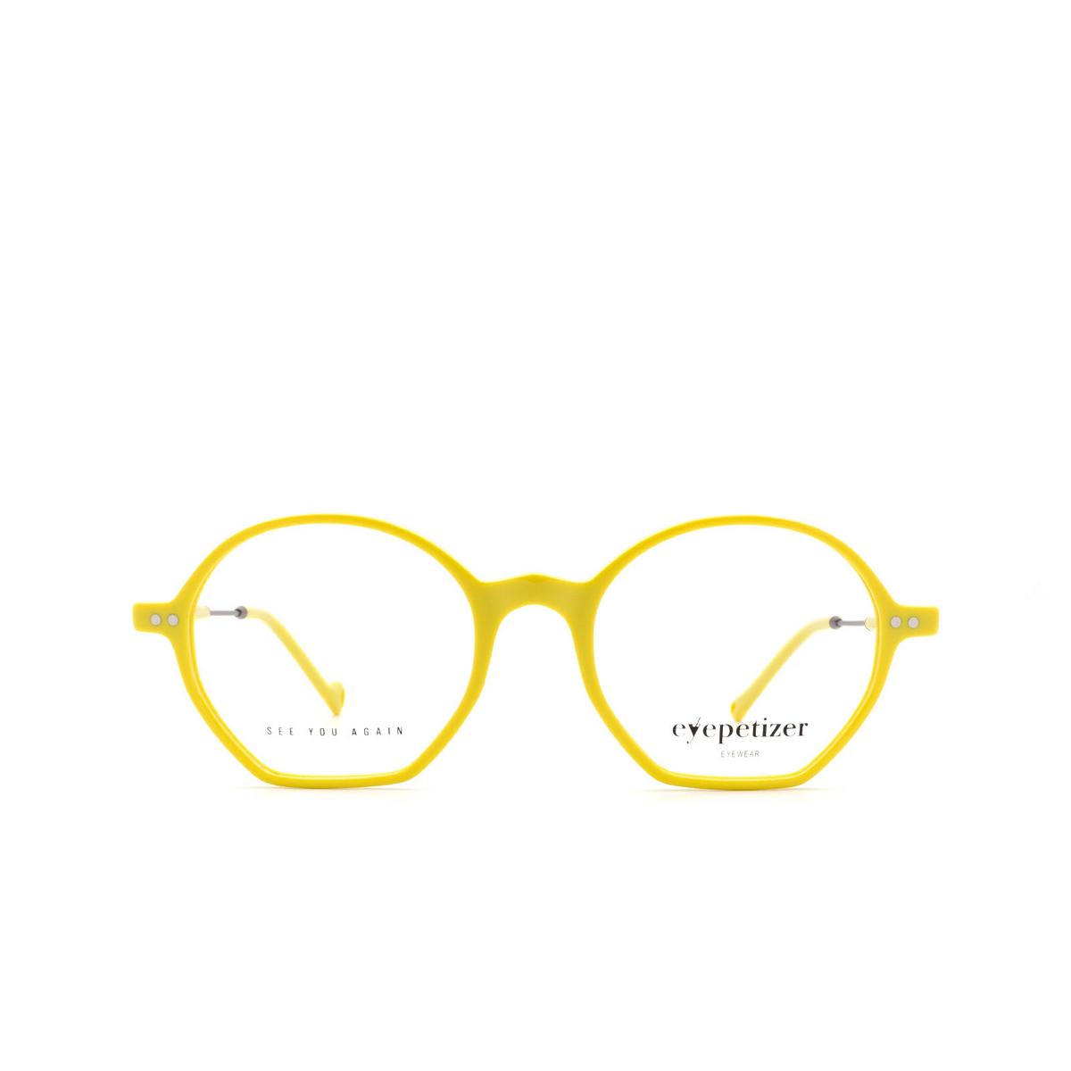 Eyepetizer® Irregular Eyeglasses: Huit color Yellow C.3-U.