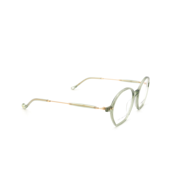 Eyepetizer® Irregular Eyeglasses: Huit color Green Sage C.4-E/E.