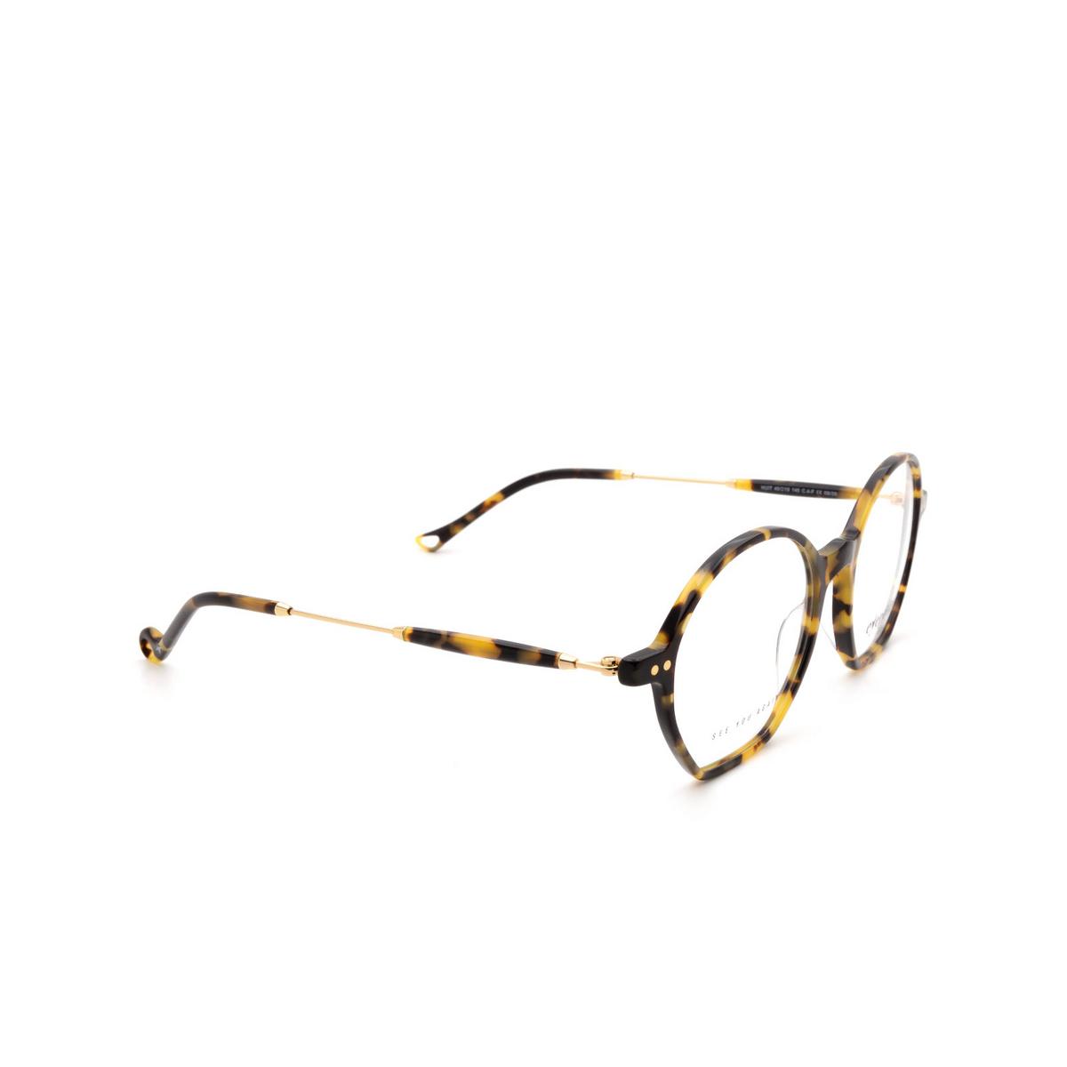 Eyepetizer® Irregular Eyeglasses: Huit color Havana C.4-F.