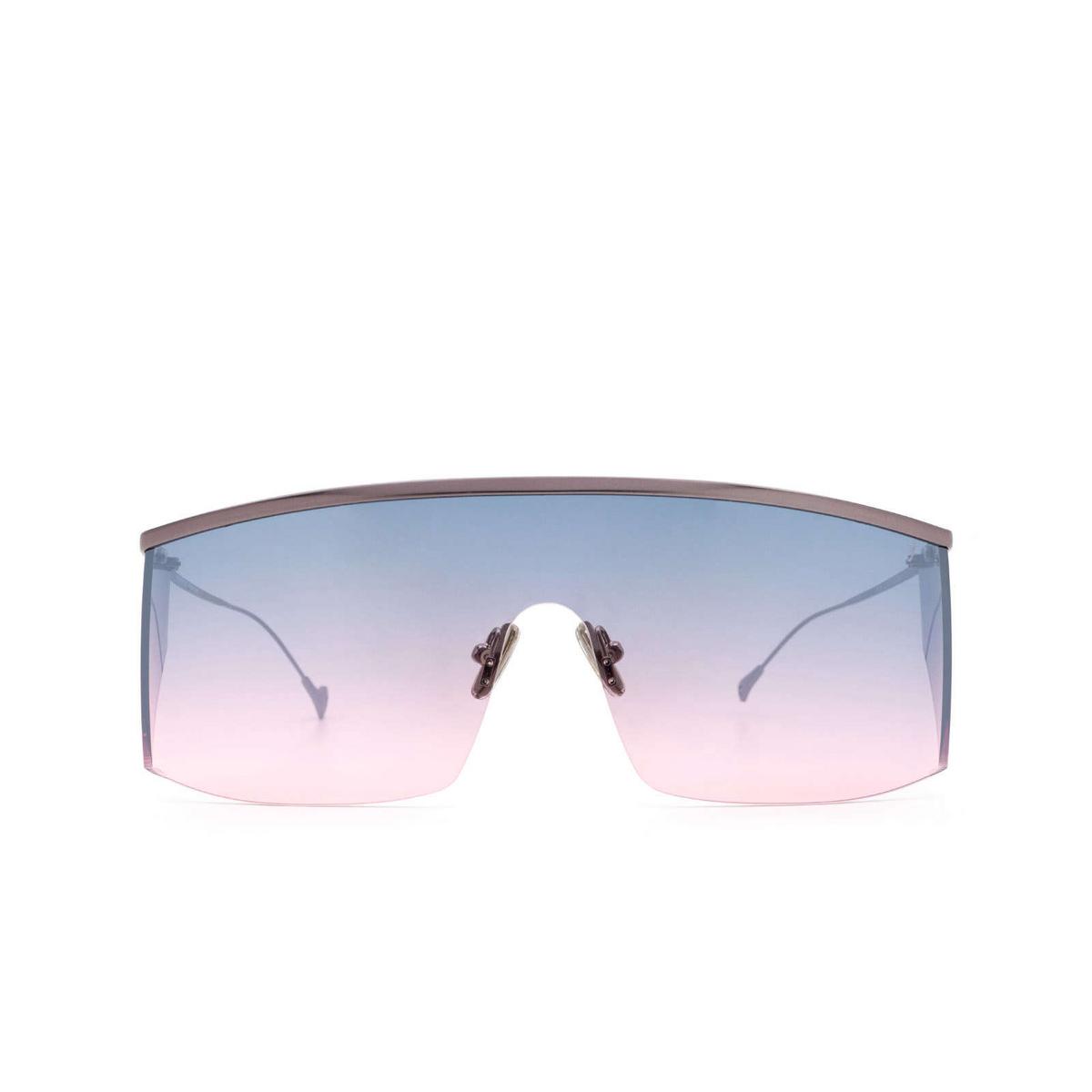Eyepetizer® Mask Sunglasses: Karl color Gunmetal C.3-20F - front view.