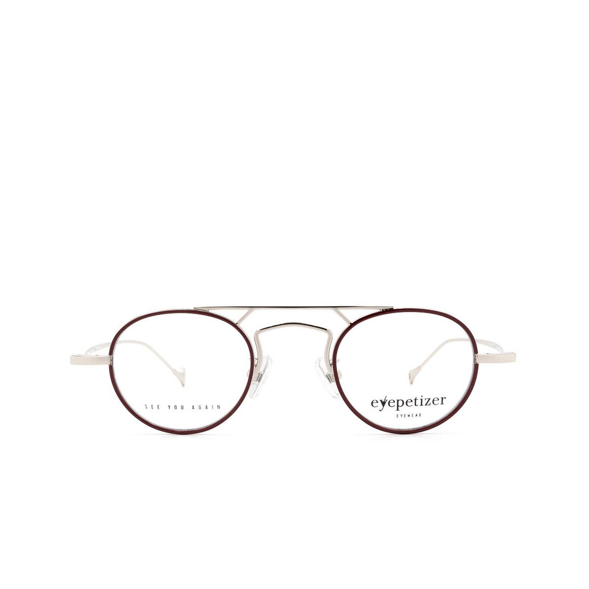 Eyepetizer® Round Eyeglasses: Kilian color Brown C.1-C.
