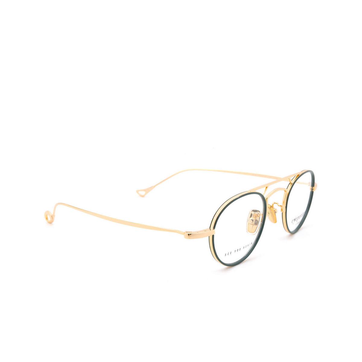 Eyepetizer® Round Eyeglasses: Kilian color Sage Green C.4-B.