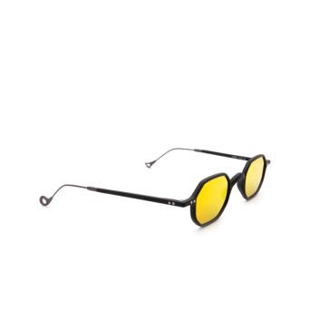 Eyepetizer® Irregular Sunglasses: Lauren color Black C.A-37.