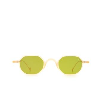 Eyepetizer® Irregular Sunglasses: Lauren color Honey C.B-4-1.