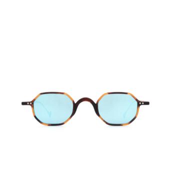 Eyepetizer® Irregular Sunglasses: Lauren color Dark Havana C.G-38.