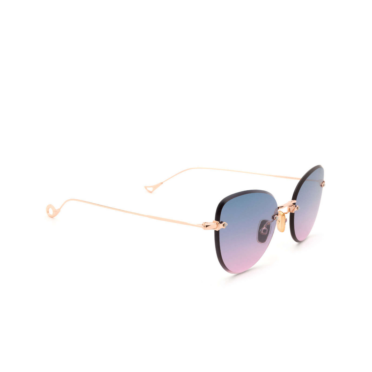 Eyepetizer® Butterfly Sunglasses: Liz color Rose Gold C.9-20.