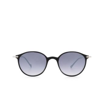 Eyepetizer® Round Sunglasses: Longisland color Black C.A-1-27F.