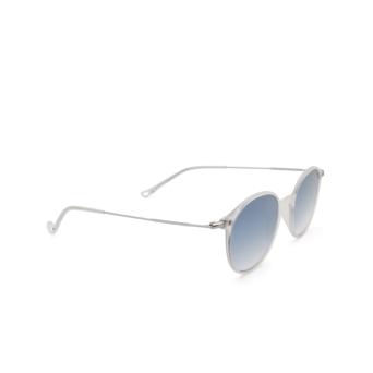Eyepetizer® Round Sunglasses: Longisland color Crystal C.F-1-26F.