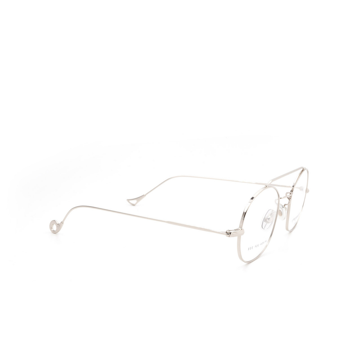Eyepetizer® Irregular Eyeglasses: Luis color Silver C 1.