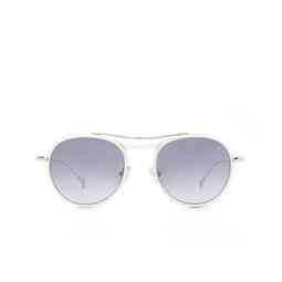 Eyepetizer® Sunglasses: Marlon color Matte White C. L 1-17F.