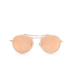 Eyepetizer® Sunglasses: Marlon color Matte White C.L-4-8C.