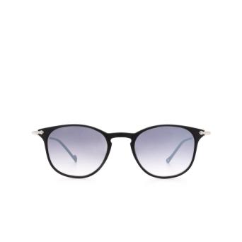 Eyepetizer® Square Sunglasses: Montauk color Black C.A-1-27F.