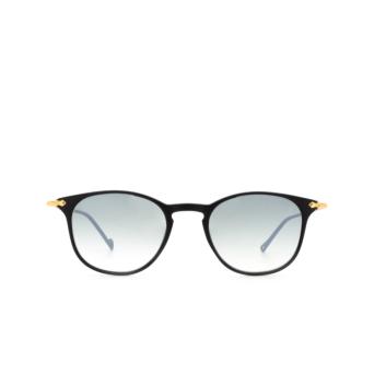 Eyepetizer® Square Sunglasses: Montauk color Black C.A-4-25F.