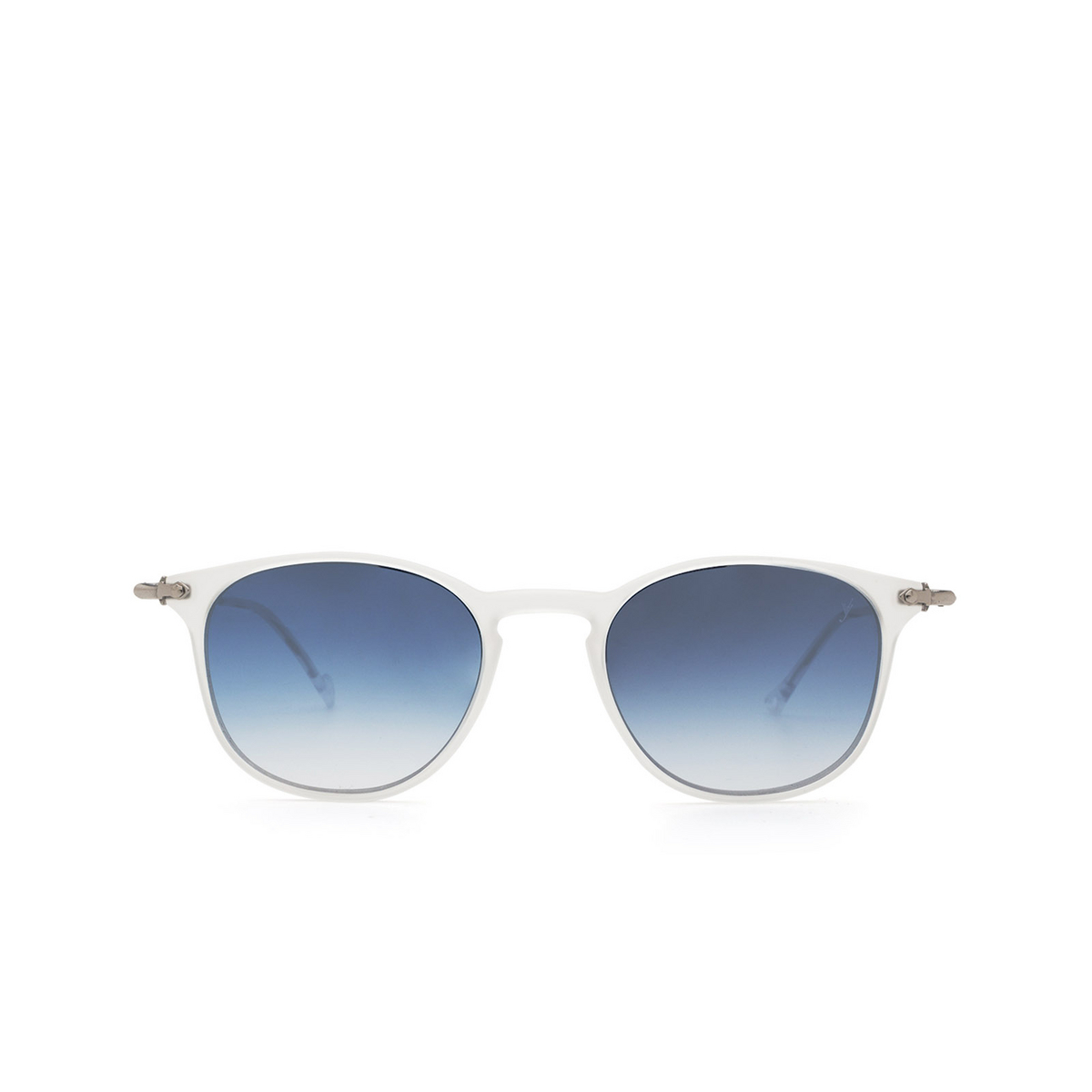 Eyepetizer® Square Sunglasses: Montauk color Crystal C.F-1-26F - front view.