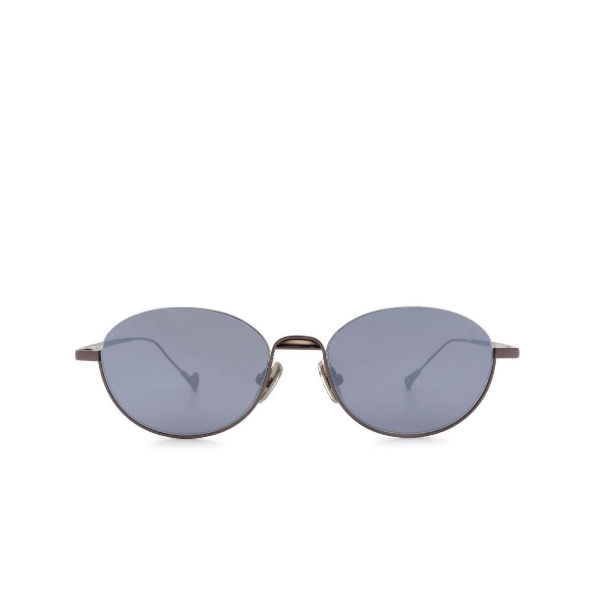 Eyepetizer® Oval Sunglasses: Narita color Gunmetal C.3-7F.