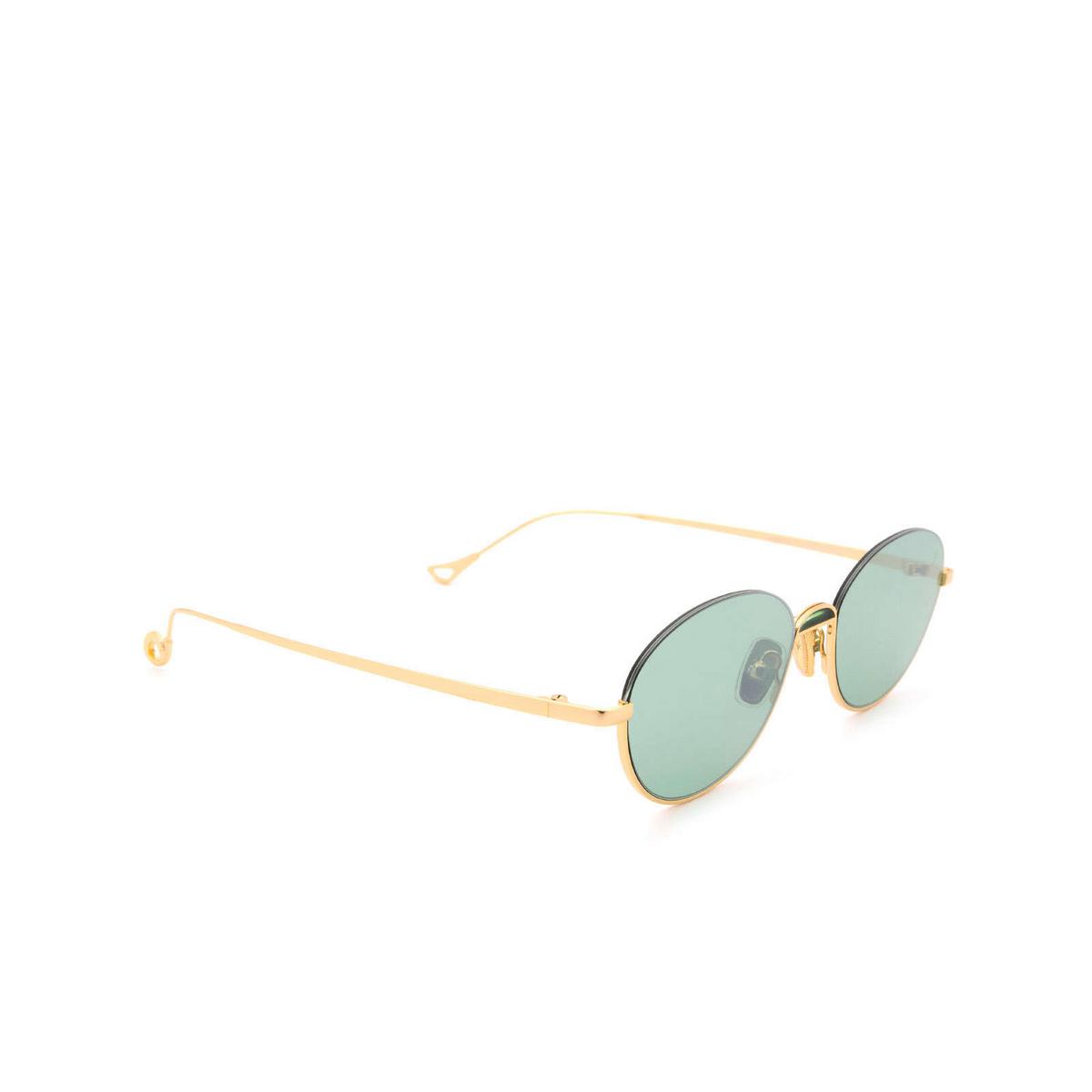 Eyepetizer® Oval Sunglasses: Narita color Gold C.4-29F.