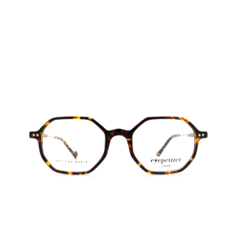 Eyepetizer® Irregular Eyeglasses: Neuf color Dark Havana C.1-I.