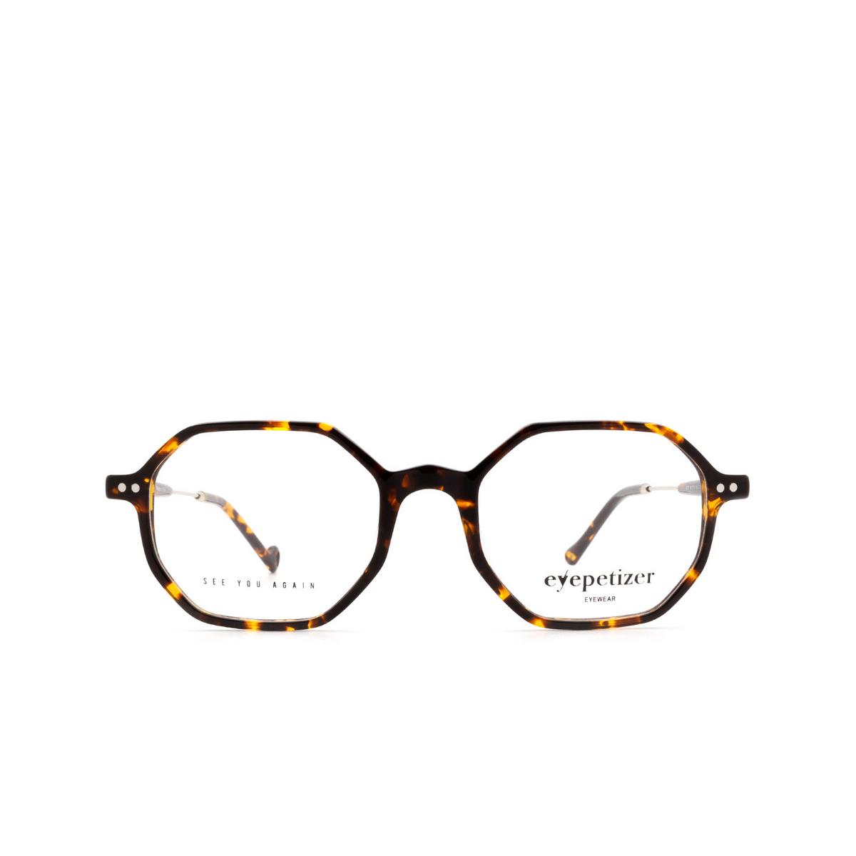 Eyepetizer® Irregular Eyeglasses: Neuf color Dark Havana C.1-I.