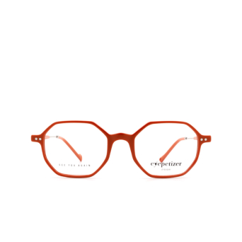 Eyepetizer® Irregular Eyeglasses: Neuf color Orange C.1-K.