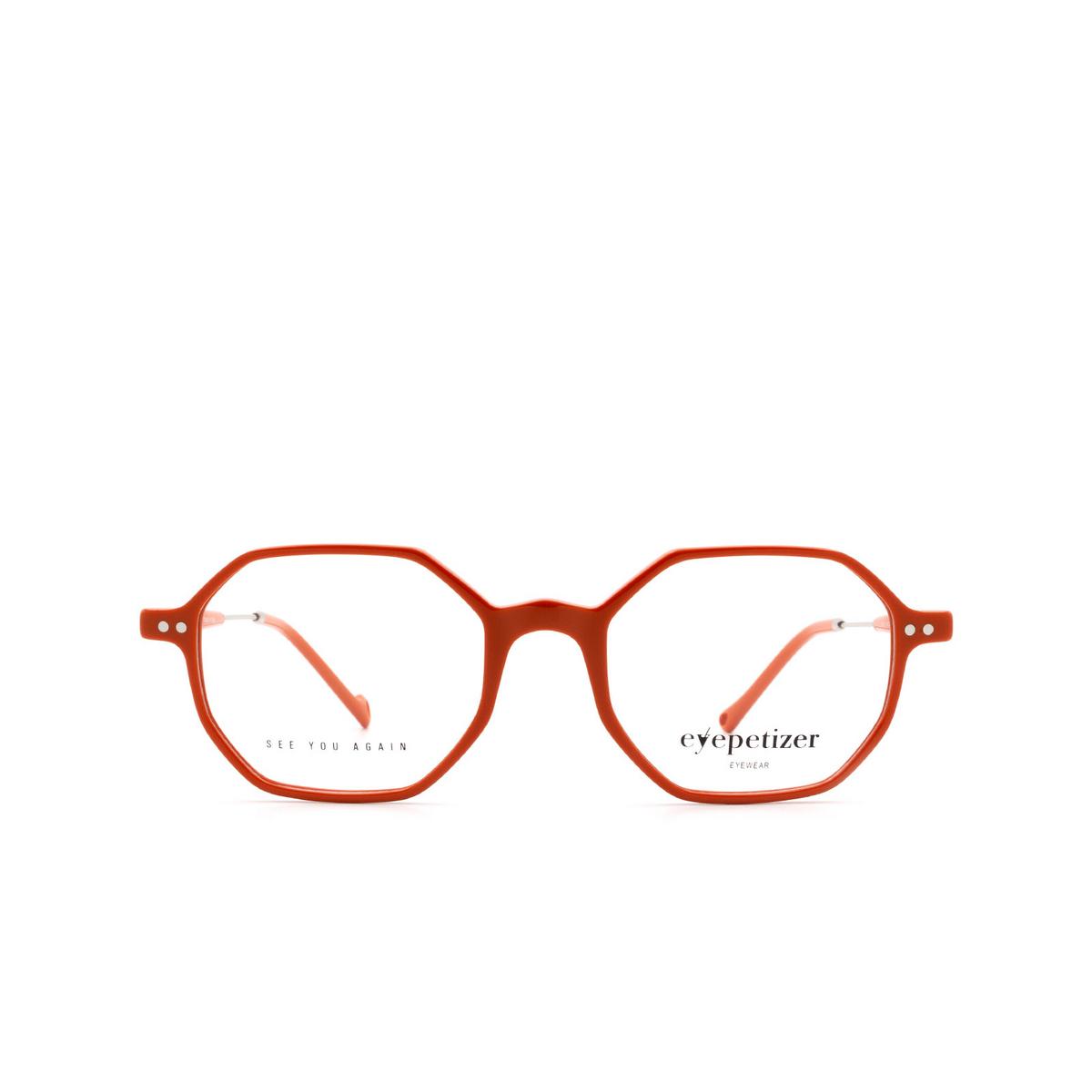 Eyepetizer® Irregular Eyeglasses: Neuf color Orange C.1-K.
