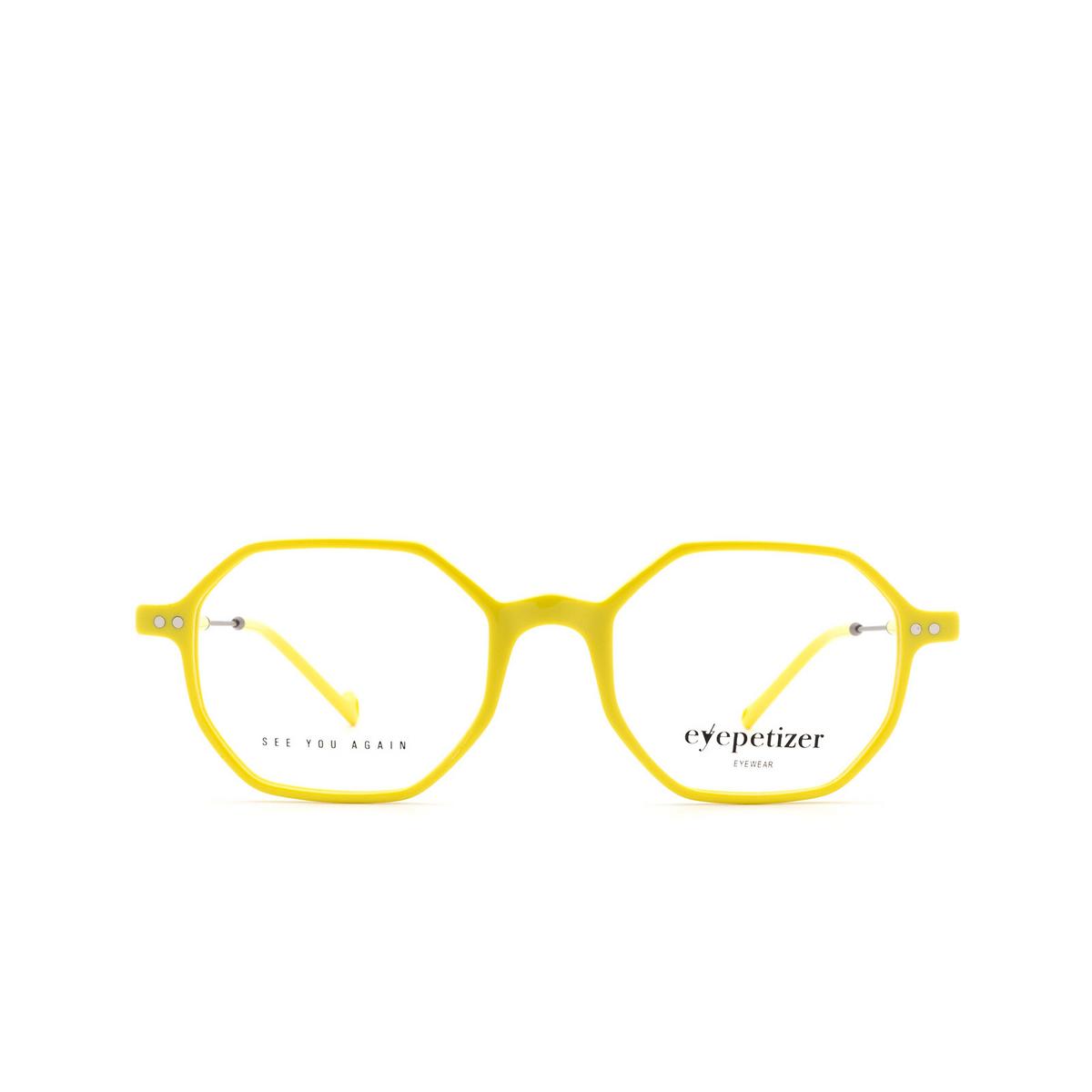 Eyepetizer® Irregular Eyeglasses: Neuf color Yellow C.3-U.
