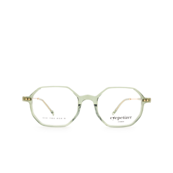 Eyepetizer® Irregular Eyeglasses: Neuf color Green Sage C.4-E/E.