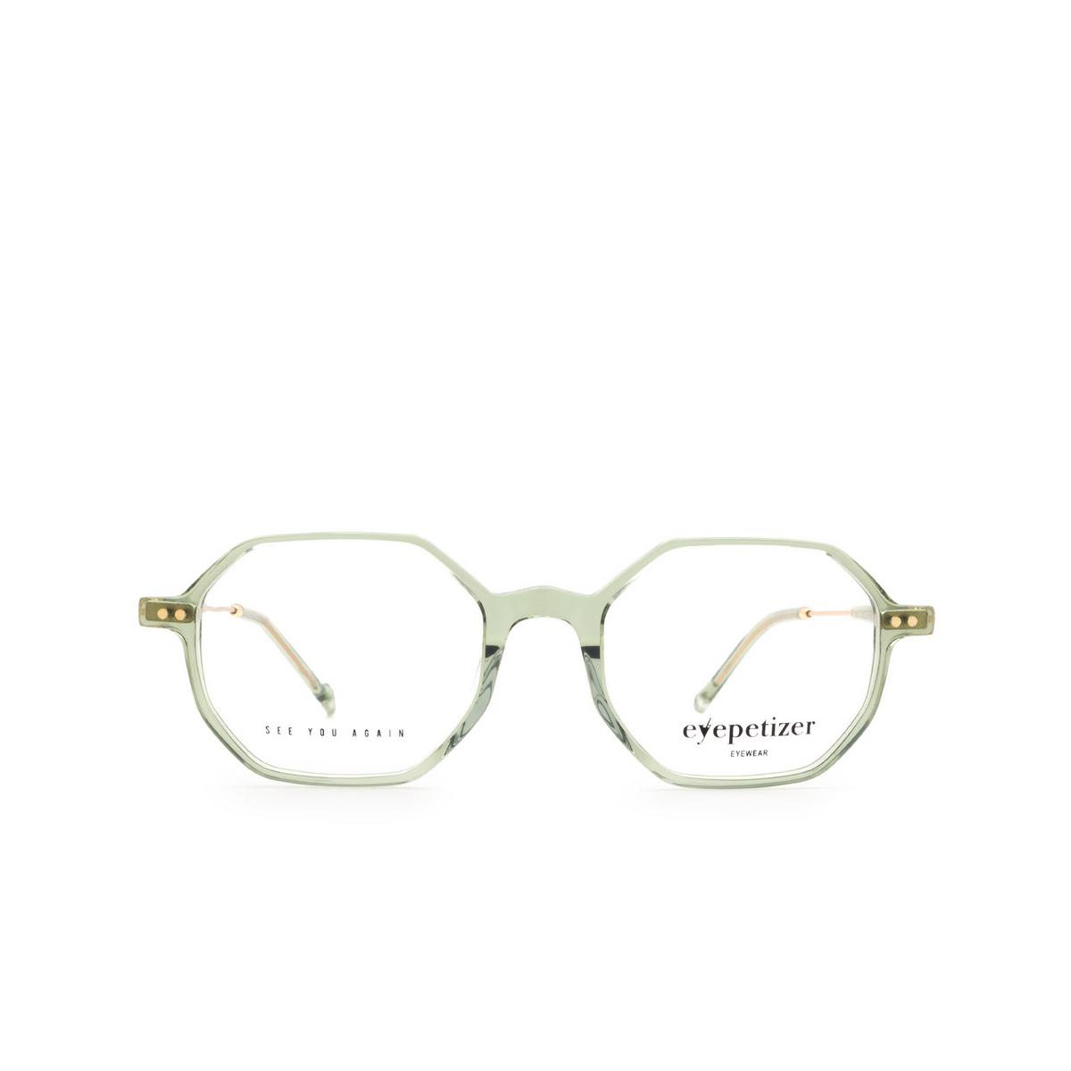 Eyepetizer® Irregular Eyeglasses: Neuf color Green Sage C.4-E/E.