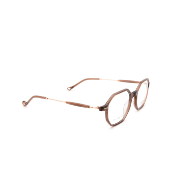 Eyepetizer® Irregular Eyeglasses: Neuf color Brown C.9-D/D.