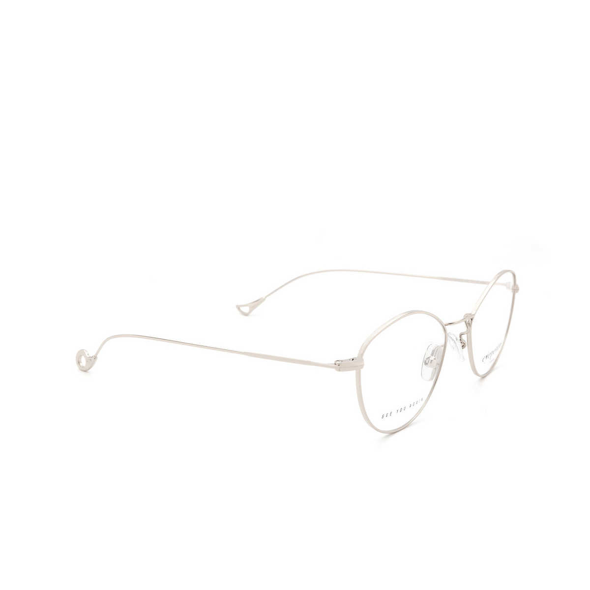 Eyepetizer® Cat-eye Eyeglasses: Nicole color Silver C.1.