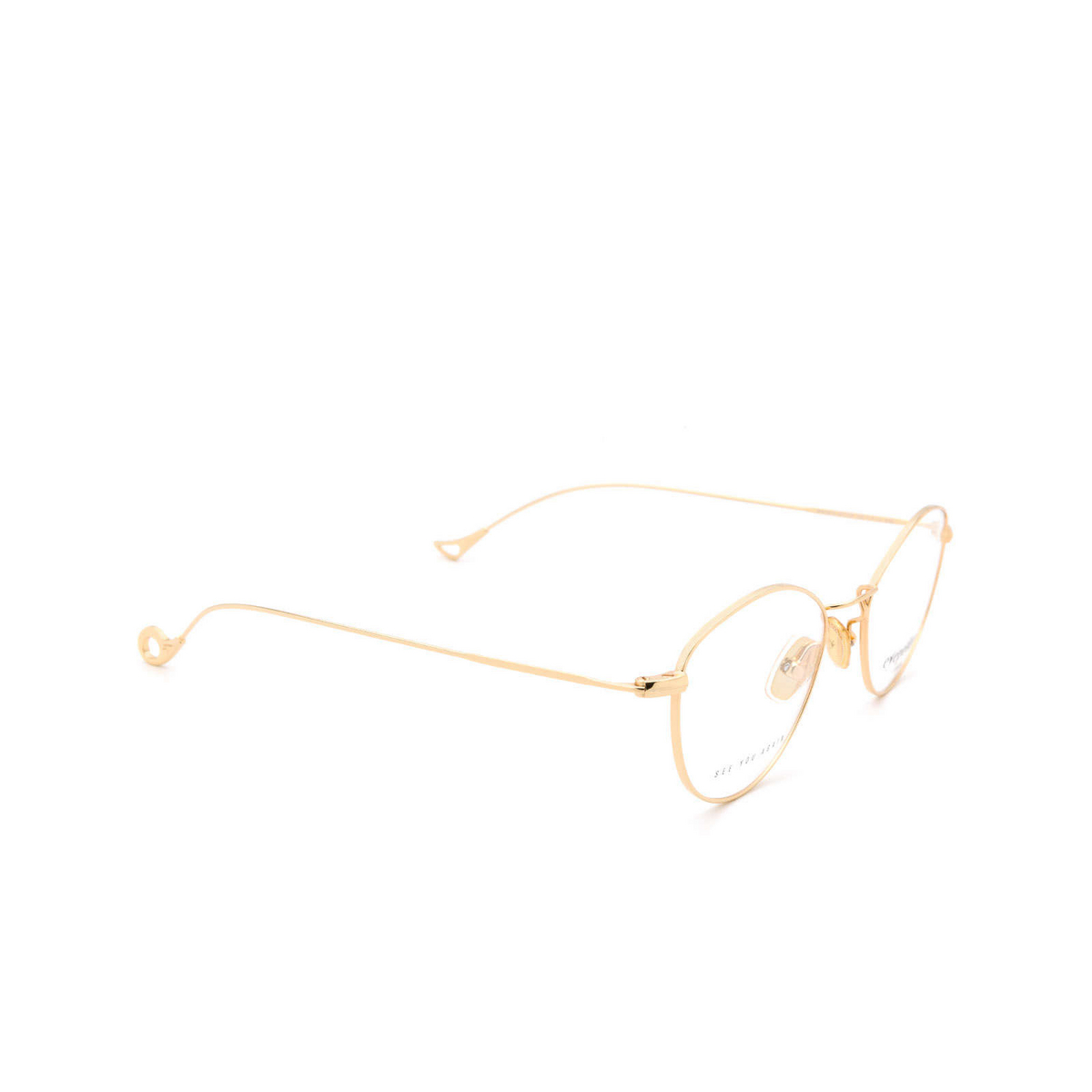 Eyepetizer® Cat-eye Eyeglasses: Nicole color Gold C.4.