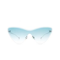 Eyepetizer® Sunglasses: Ocean color Silver C.1-21.