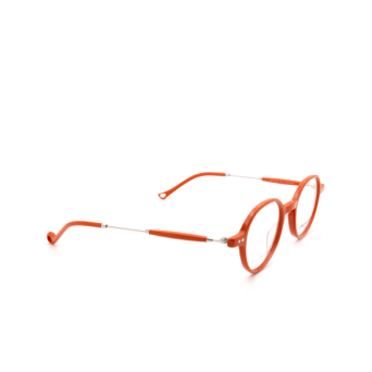 Eyepetizer® Round Eyeglasses: Onze color Orange C.1-K.