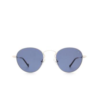 Eyepetizer® Round Sunglasses: Orangerie color Silver C.1-A-39.