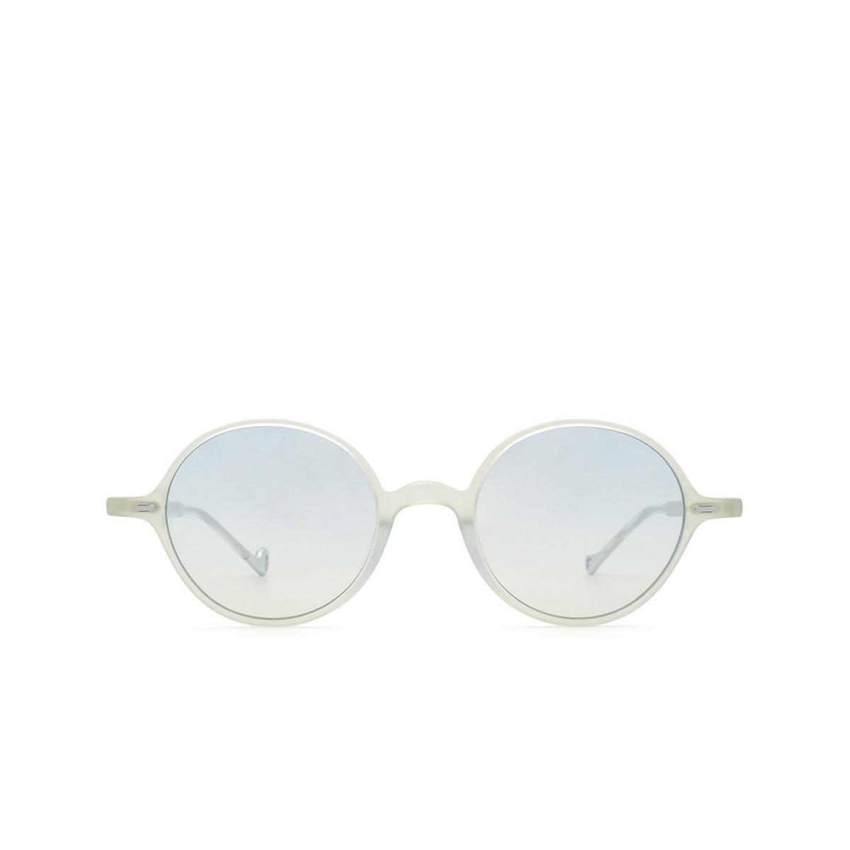 Eyepetizer® Round Sunglasses: Pallavicini color Green Aqua Marine C.A/A-23F - front view.