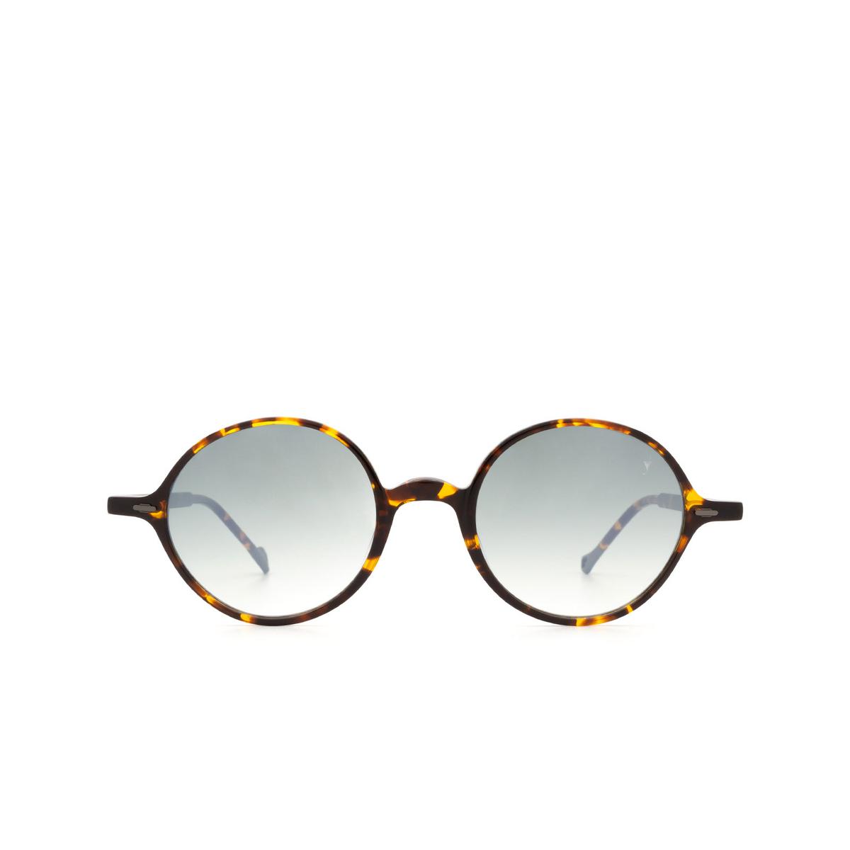 Eyepetizer® Round Sunglasses: Pallavicini color Dark Havana C.I-25F.