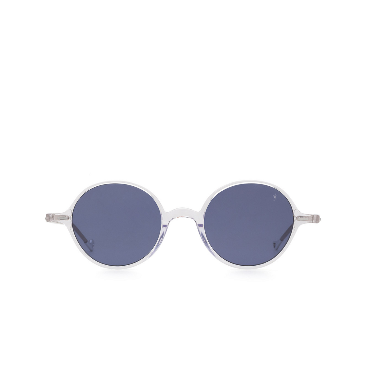 Eyepetizer® Round Sunglasses: Pallavicini color Crystal C.Y-39 - front view.