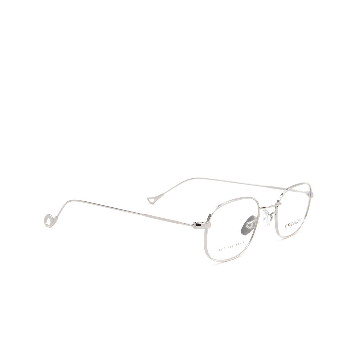 Eyepetizer® Oval Eyeglasses: Philippe color Silver C 1.