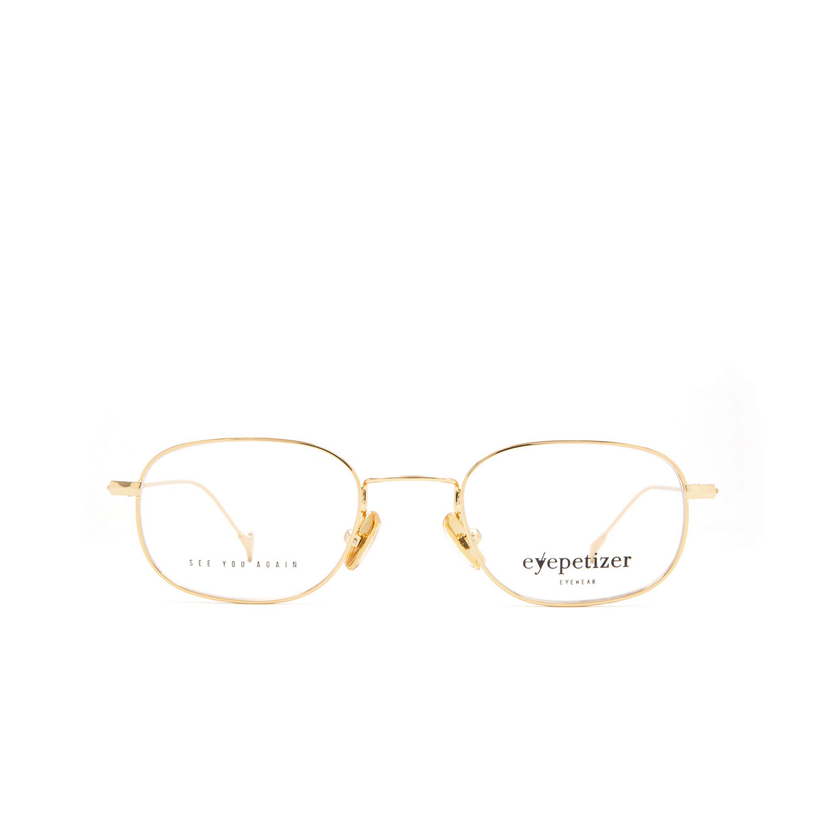 Eyepetizer® Oval Eyeglasses: Philippe color Gold C 4.