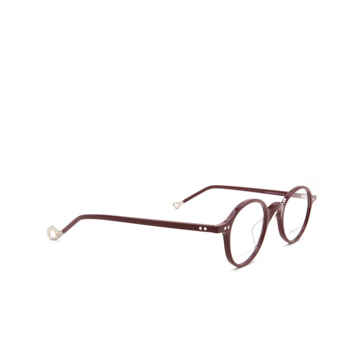 Eyepetizer® Round Eyeglasses: Plaza color Bordeaux C P-1.