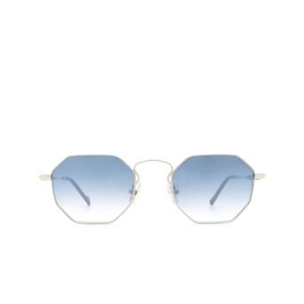 Eyepetizer® Irregular Sunglasses: Pompidou color Silver C.1-A-26F.