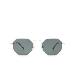 Eyepetizer® Sunglasses: Pompidou color Silver C.1-F-40.
