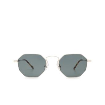 Eyepetizer® Irregular Sunglasses: Pompidou color Silver C.1-F-40.