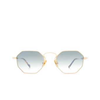 Eyepetizer® Irregular Sunglasses: Pompidou color Gold C.4-I-25F.