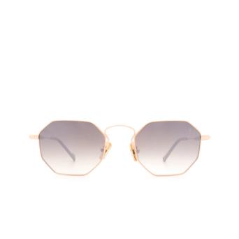 Eyepetizer® Irregular Sunglasses: Pompidou color Rose Gold C.9-J-18F.