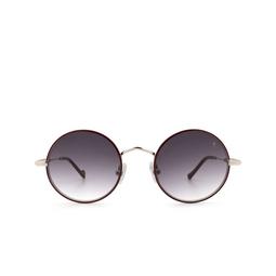 Eyepetizer® Sunglasses: Quatre color Bordeaux C.1-C-P-27.